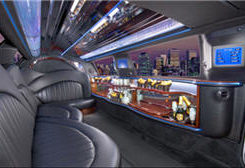 Ann Arbor Limo Rental Lincoln Interior