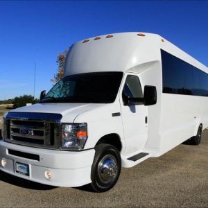 Ann Arbor Party Bus Rental Jewel Exterior