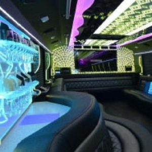 Ann Arbor Party Bus Rental Jewel Interior