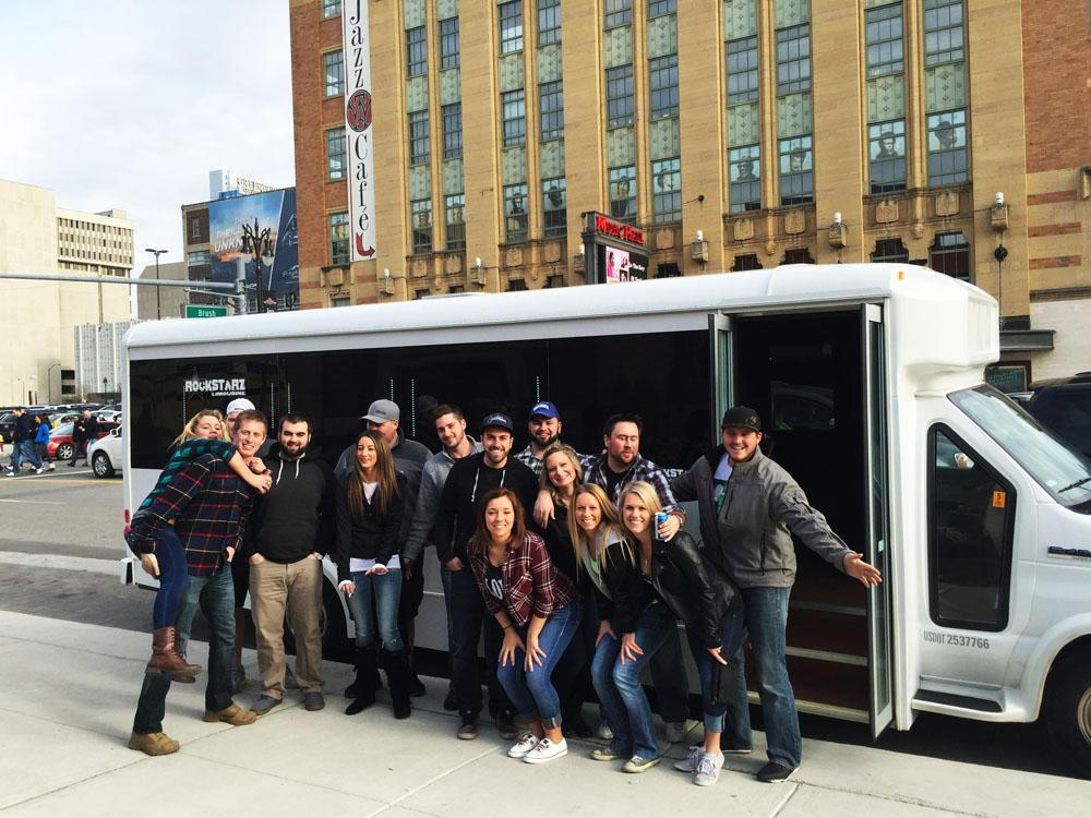 Detroit Concert Party Bus Service