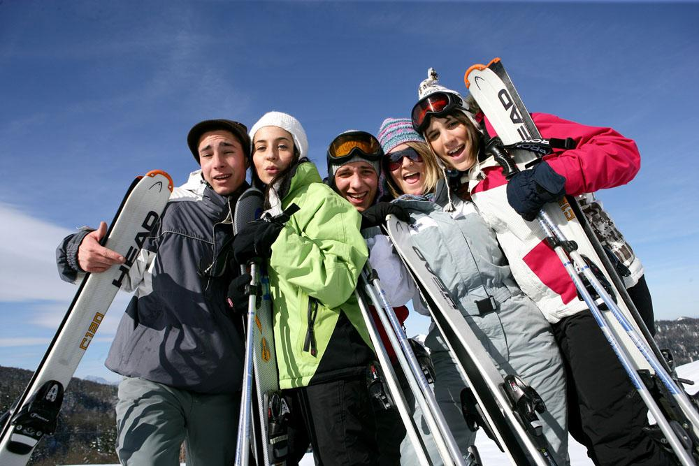 Michigan Ski Trip Party Bus Rental