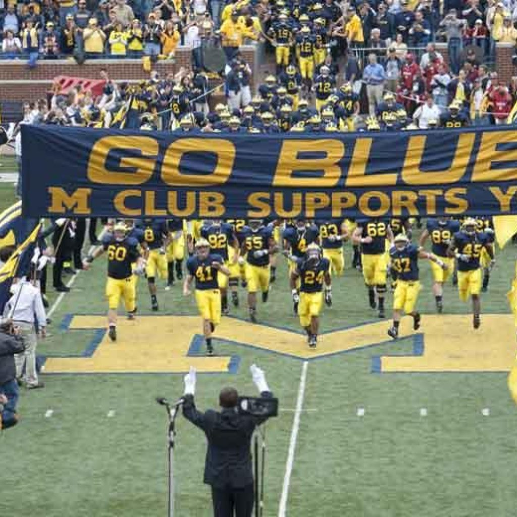 Michigan Football Limousine Rental