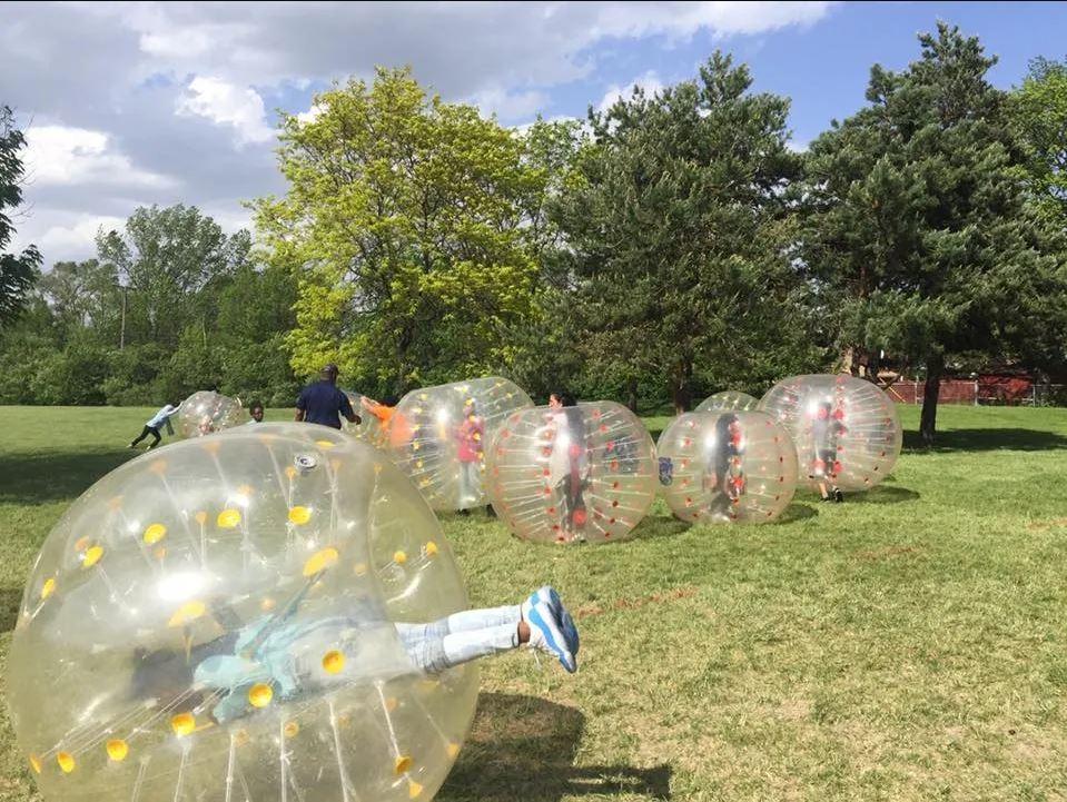 Bumpin' Bubbles Soccer