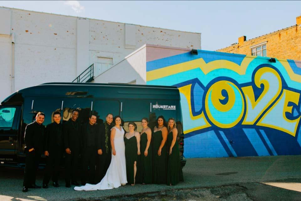 Rockstarz Wedding Party Bus Ann Arbor